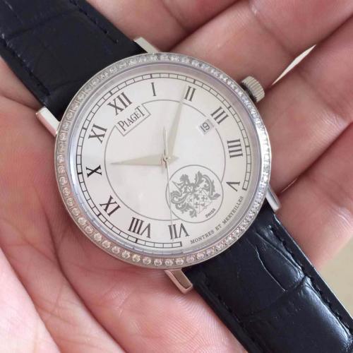 伯爵男士自动机械手表 三针腕表 瑞士ETA2824-2机芯