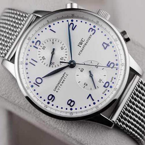 顶级瑞士名表 万国IWC多功能计时手表 自动机械密底男表 316L精钢