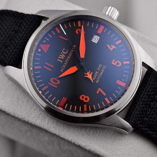 瑞士名表 万国马克系列 自动机械手表 男士腕表 原装机芯 密底