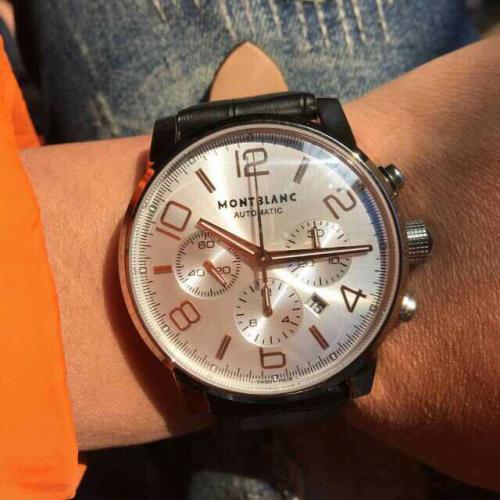 万宝龙 Montblanc  时光行者系列  男士自动机械腕表 7750机芯  男士高端手表 需订金