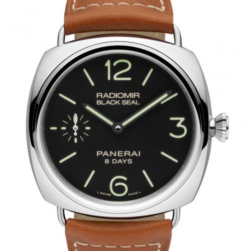 Panerai 沛纳海 RADIOMIR BLACK SEAL 8 DAYS ACCIAIO PAM00609 Pam609