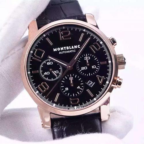 万宝龙 Montblanc  时光行者系列  男士自动机械腕表 7753机芯  男士高端手表 需订金