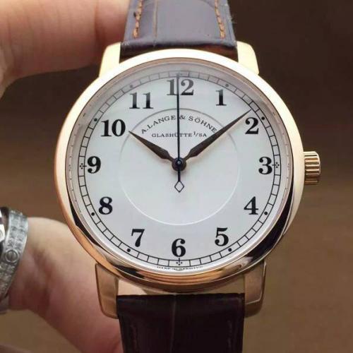 瑞士名表朗格(A. Lange & Söhne)理查德朗格系列  男士手动上链机械表手表 高端男士腕表