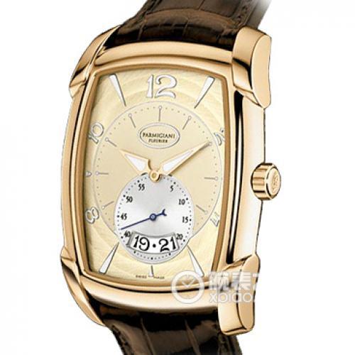 帕玛强尼(Parmigiani Fleurier)KALPA GRANDE系列18K玫瑰金 PF011936.01 男士自动机械表手表 高端腕表