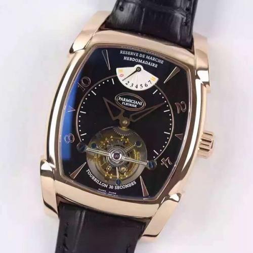 帕玛强尼(Parmigiani Fleurier)KALPA GRANDE系列真陀飞轮手动上链 男士自动机械表手表 高端腕表