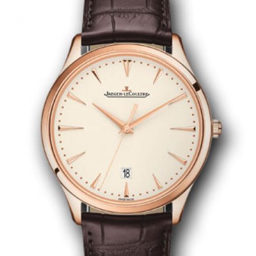 【高端专供】积家Master Ultra Thin Date超薄日历大师系列腕表1282510 全自动机械男士手表