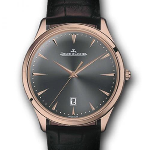 【高端专供】积家Master Ultra Thin Date超薄日历大师系列腕表128255J 全自动机械男士手表
