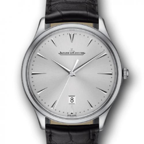 【高端专供】积家Master Ultra Thin Date超薄日历大师系列腕表1288420 全自动机械男士手表