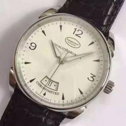 帕玛强尼(Parmigiani Fleurier)  男士自动机械表手表  (送鳄鱼皮表带)高端腕表