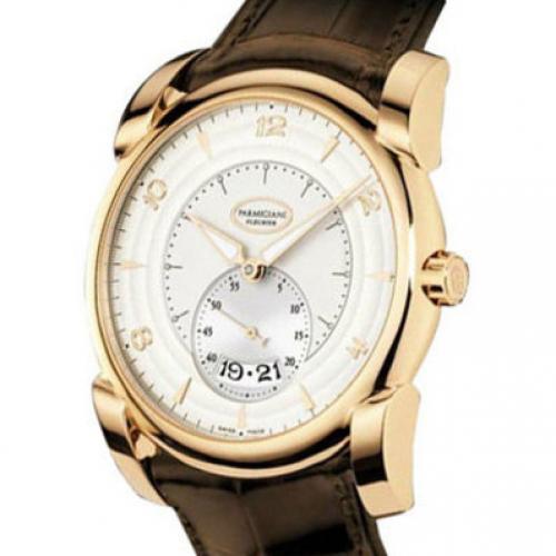 帕玛强尼(Parmigiani Fleurier)KALPA GRANDE系列PF012500.01 18K玫瑰金 白面 男士自动机械表手表 高端腕表