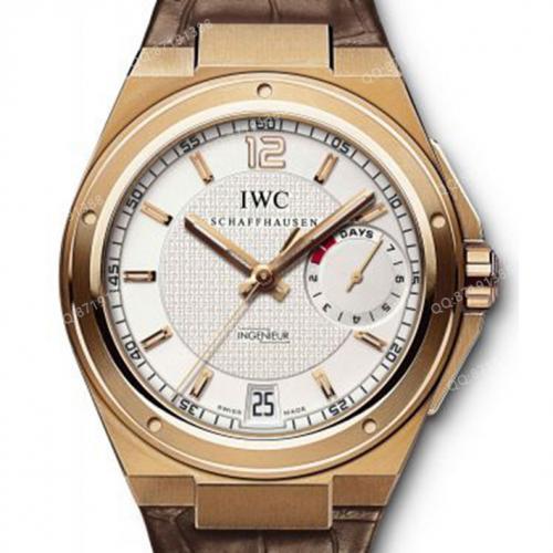 万国IWC 工程师系列 IW500503 男士自动机械腕表 18K玫瑰金 白面 原装表扣