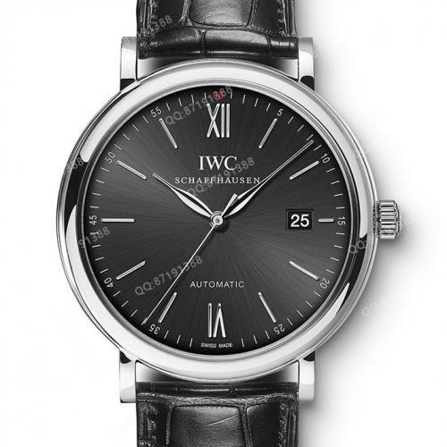 万国IWC 柏涛菲诺系列 IW356502 黑面 男士自动机械手表