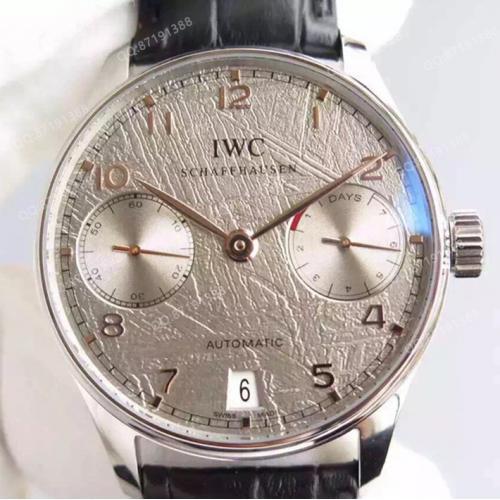 【爆款专供】万国IWC 葡萄牙系列自动腕表 灰面 自动机械男表