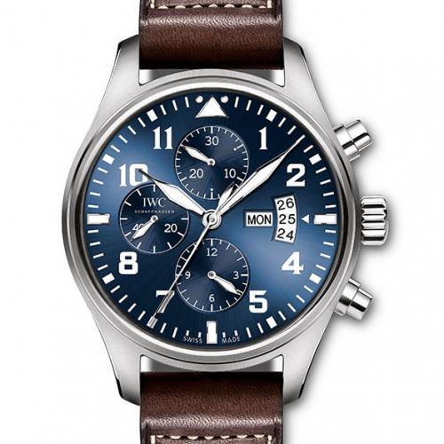 【高端专供】万国IWC 小王子男士自动机械腕表 IW377706飞行员计时 原装表扣