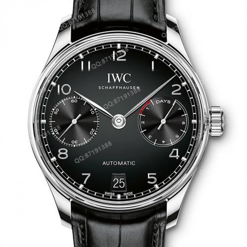 【爆款专供】万国IWC葡萄牙系列IW500703手表 自动机械男表黑面