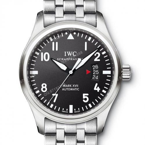 【高端专供】万国IWC 飞行员系列马克十七 IW326501 男士自动机械腕表 2892机芯  原装表扣  钢带