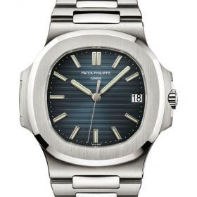 百达翡丽PATEK PHILIPPE Nautilus系列5711/1A-010 Joaillerie休闲版 蓝面三针瑞士机械腕表