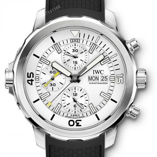 【高端专供】万国IWC 海洋时计计时腕表 IW376803 男士自动机械腕表 44毫米大表盘 7750机芯 原装表扣