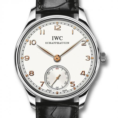 【高端专供】万国IWC 葡萄牙系列腕表 IW545408 男士手动机械腕表 44毫米大表盘 深度防水 原装表扣