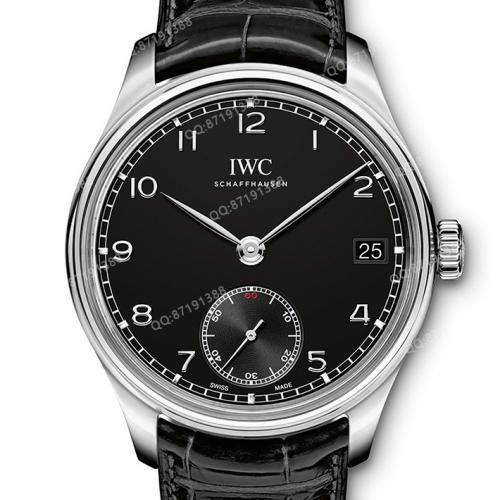 【高端专供】万国IWC 葡萄牙系列腕表 IW545407 男士手动机械腕表 44毫米大表盘 深度防水 原装表扣