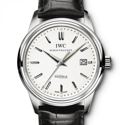 【高端专供】万国IWC 复刻系列(IW323305)白面 复古工程师  男士自动机械腕表 42.5毫米中大表盘  Cal:80111机