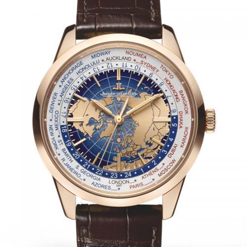 积家Jaeger-LeCoultre GEOPHYSIC®地球物理天文台腕表Q8102520 18K玫瑰金 全自动机械男士手表