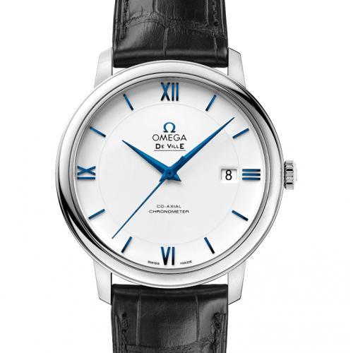 欧米茄OMEGA 蝶飞系列典雅系列腕表424.53.40.20.04.001 白面 男士自动机械表