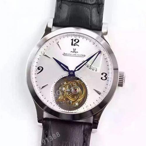 积家Jaeger-LeCoultre 真陀飞轮系列 白面 全自动机械男士手表