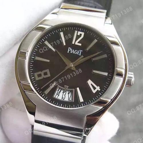 伯爵Piaget Polo系列腕表G0A31139 黑面 男士自动机械手表