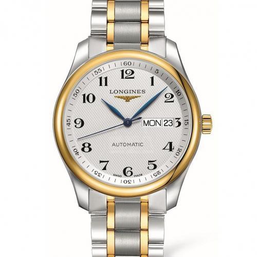 浪琴(Longines) 名匠系列 L2.755.5.78.7  18K金 钢带皮带通用 男士自动机械表手表 高端腕表