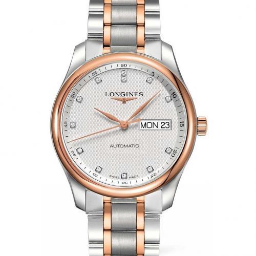 浪琴(Longines) 名匠系列  L2.755.5.97.7  18K玫瑰金  男士自动机械表手表 高端腕表