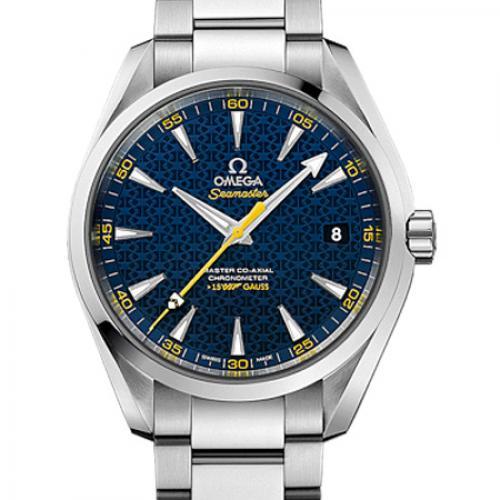 【爆款专供】欧米茄海马系列231.10.42.21.03.004 新款  AQUA TERRA 150米 钢带 男士透底自动机械手表