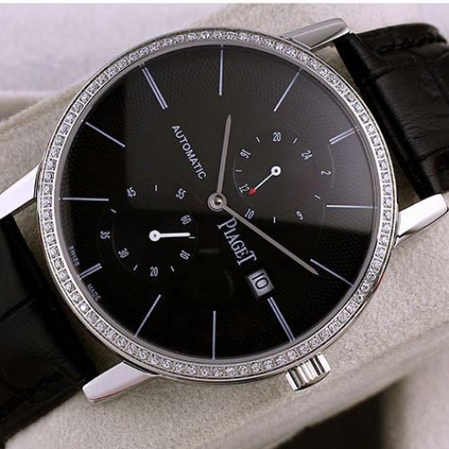 伯爵Piaget男表 ALTIPLANO系列 自动机械透底手表  进口多功能机芯 香港组装
