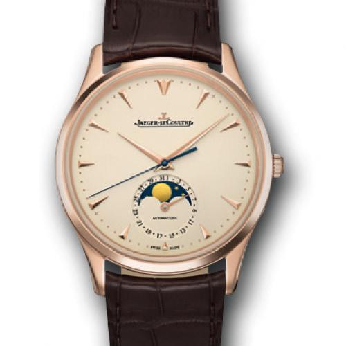 【高端专供】积家Master Chronograph计时大师系列(1362520) 18K玫瑰金  真日月星辰 全自动机械男士手表