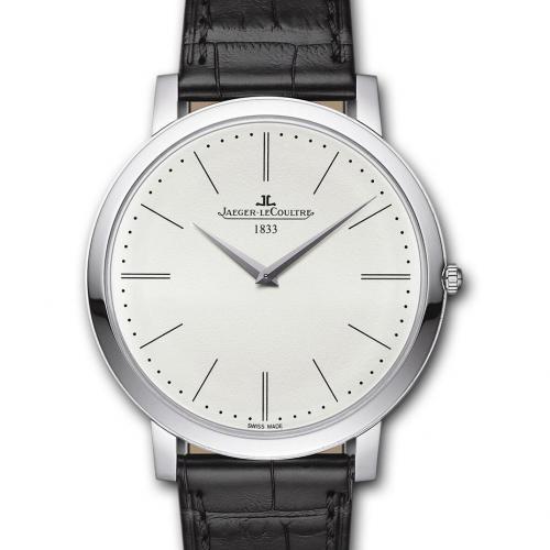 【爆款专供】积家Master Ultra Thin 1907超薄大师系列腕表(1296520)  腕表男表 全自动机械男士手表