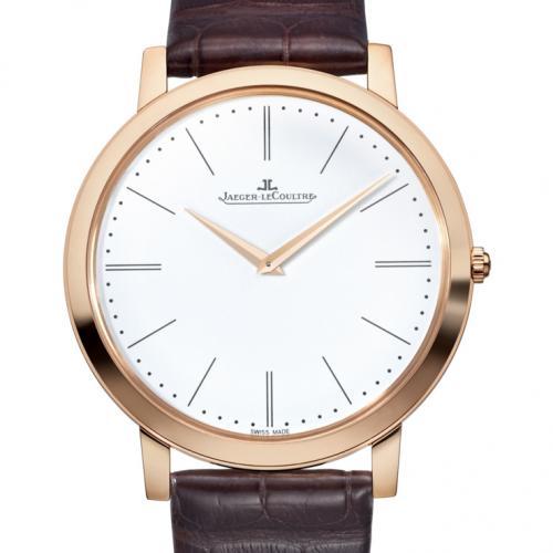 【爆款专供】积家Master Ultra Thin 1907超薄大师系列腕表(1292520) 18K玫瑰金 腕表男表 全自动机械男士手表
