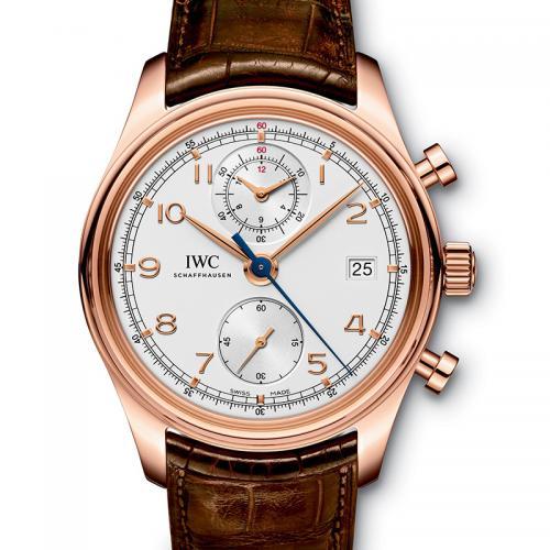 IWC 万国 葡萄牙计时系列IW390402 18K玫瑰金 男士自动多功能机械腕表