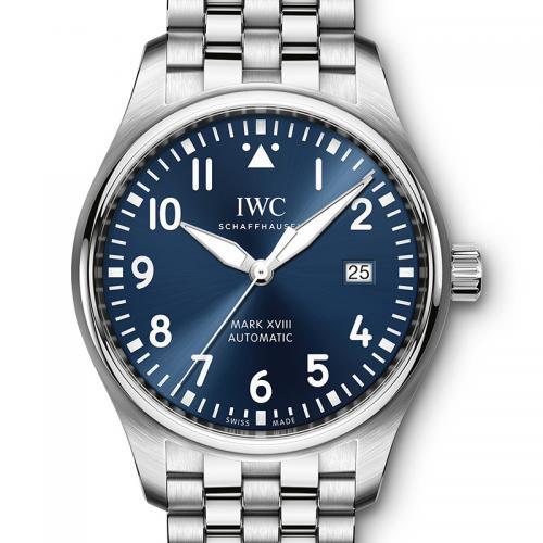 IWC 万国 Pilots 飞行员系列计时腕表 马克十八小王子IW327014 钢带 香港组装