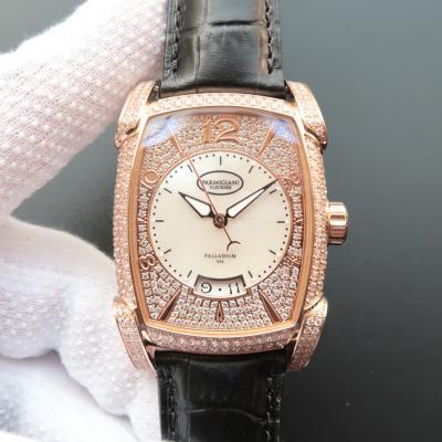 帕玛强尼(Parmigiani Fleurier)KALPA GRANDE系列 镶钻满钻销量神器 18K玫瑰金 男士自动机械表手表