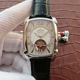 帕玛强尼(Parmigiani Fleurier)KALPA GRANDE系列 真陀飞轮腕表 白钢白盘 男士手动机械表手表