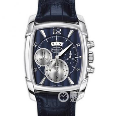 帕玛强尼(Parmigiani Fleurier)KalpaGraphe系列PFC128-1200600 蓝盘 男士自动机械表手表