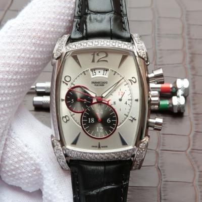 帕玛强尼(Parmigiani Fleurier)KalpaGraphe系列PFC128-0000100 白盘 镶钻 男士自动机械表手表