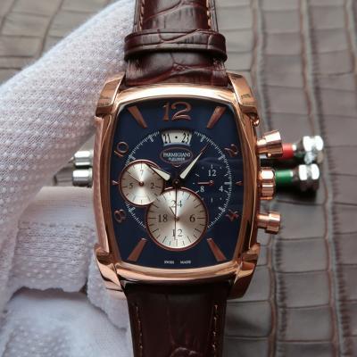帕玛强尼(Parmigiani Fleurier)KalpaGraphe系列PFC128-0000100 18K玫瑰金 蓝盘 男士自动机械表手表