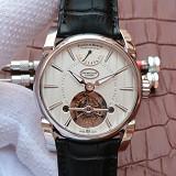 帕玛强尼(Parmigiani Fleurier)Tonda系列PFH251-1000100 真陀飞轮新款日月星辰 男士手动机械表手表