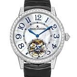 积家Jaeger-LeCoultre 约会系列Q3413408 真陀飞轮机芯 贝壳纹面 全自动机械男士手表