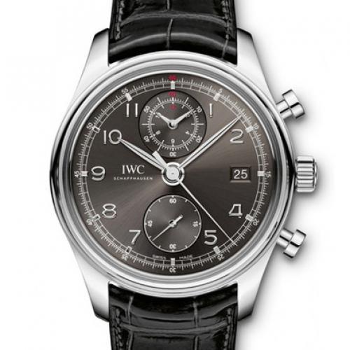 IWC 万国 葡萄牙计时系列IW390404 灰面 男士自动多功能机械腕表