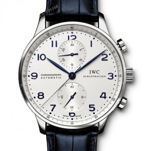 【爆款专供】万国IWC-葡萄牙计时码表 IW371446 瑞士ETA机芯机械男表