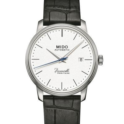美度MIDO贝伦赛丽典藏系列 M027.407.16.010.00 40周年纪念款 男士超薄自动机械表