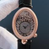 宝玑那不勒斯皇后系列 8958BB/65/974/D00D 18K玫瑰金 女士自动机械腕表