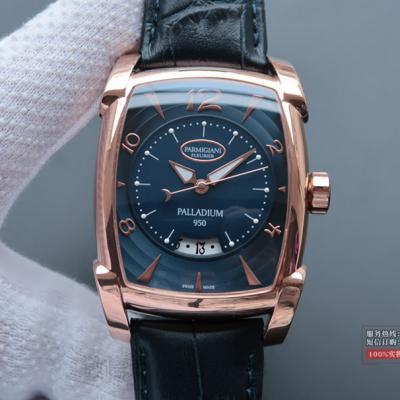 【精仿帕玛强尼1:1】LIMITED EDITIONS系列PF011128.01 18K玫瑰金 蓝盘 男士自动机械表手表